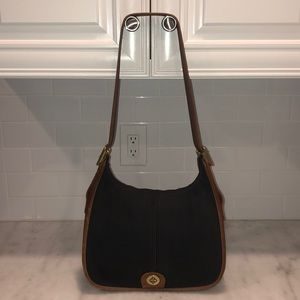 Vintage Coach Legacy Crossbody Flap Bag